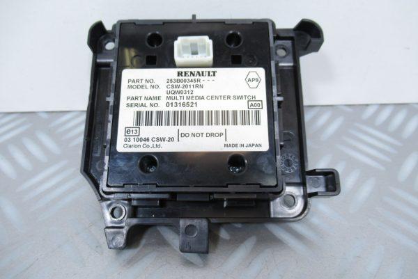 Commande GPS Renault Megane 3 253B00345R