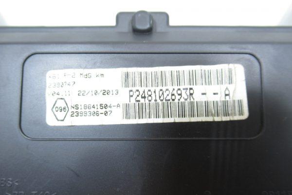 Compteur Kilometrique Renault Kangoo 2 P248102693R