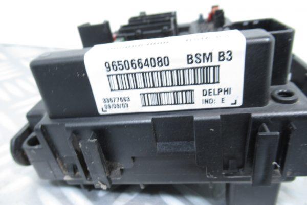 Boitier BSM B3 Delphi 9650664080 Peugeot Citroen