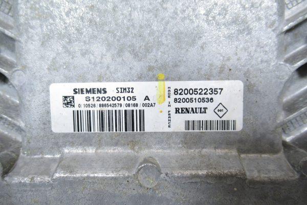 Kit de démarrage Renault Clio 3 PH1 1.2L ES 75 CV BVM de 2008 8200522357