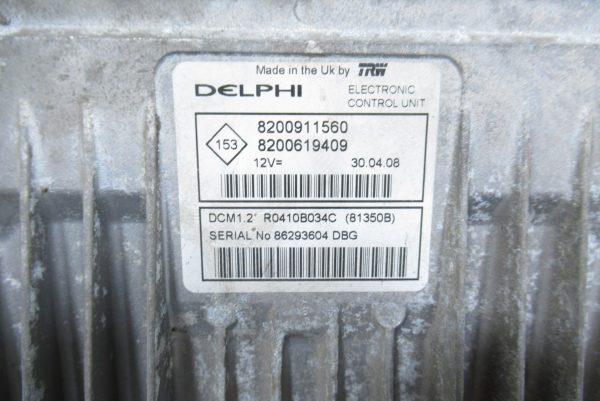 Kit de démarrage Renault Clio 3 PH1 1.5 DCI 8200911560