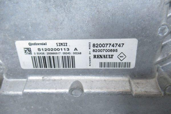 Kit de demarrage Renault Twingo 2 PH1 1.2L ES 75 CV 8200774747