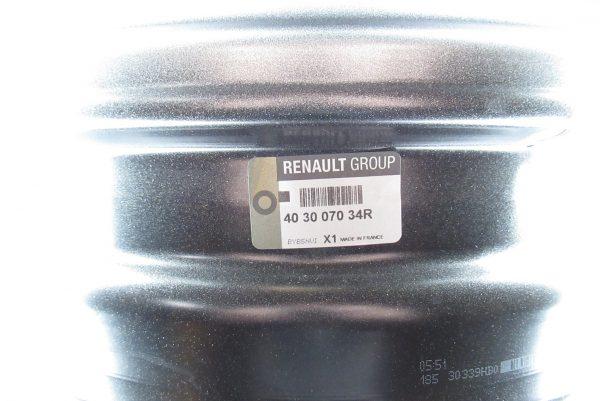 Jante acier Renault
