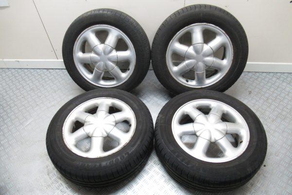 Jantes alu x4 Renault Scenic 185X65 R15 4 trous